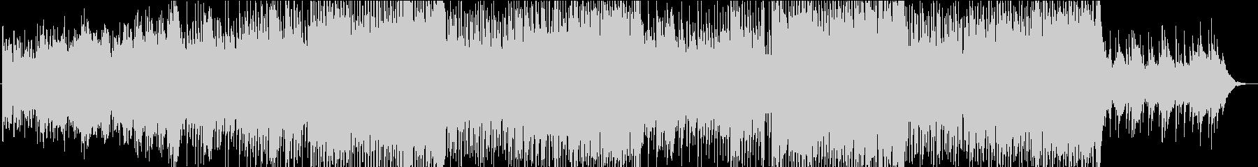 爽やかで広がりのある3拍子が特徴のBGMの未再生の波形