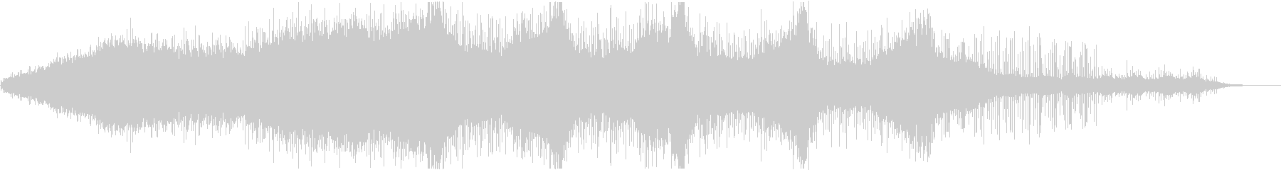ガムラン系ヒーリング系BGMですの未再生の波形