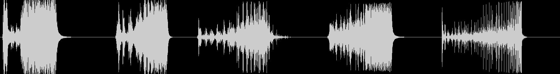 蓋/ハブキャップスピン-5つの効果...の未再生の波形