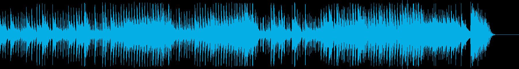 三味線_和楽曲クラブミックスの再生済みの波形