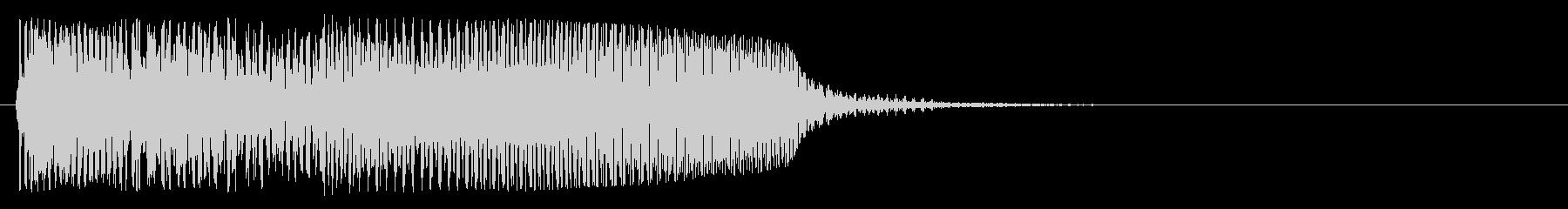 ゲームオーバー音(ベース系)の未再生の波形