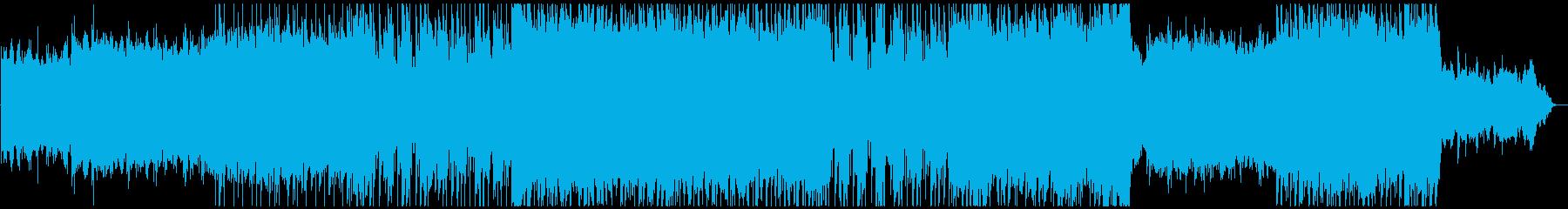感動的ギターインスト曲ヒーロー賛歌の再生済みの波形