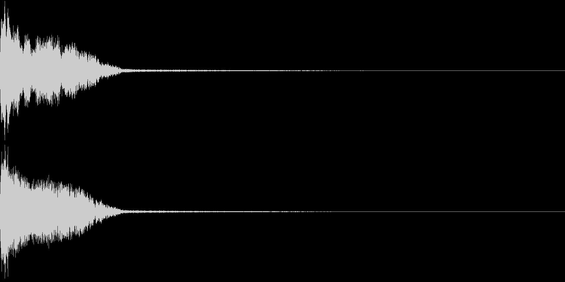 InvaderBuzz 発砲音 6の未再生の波形