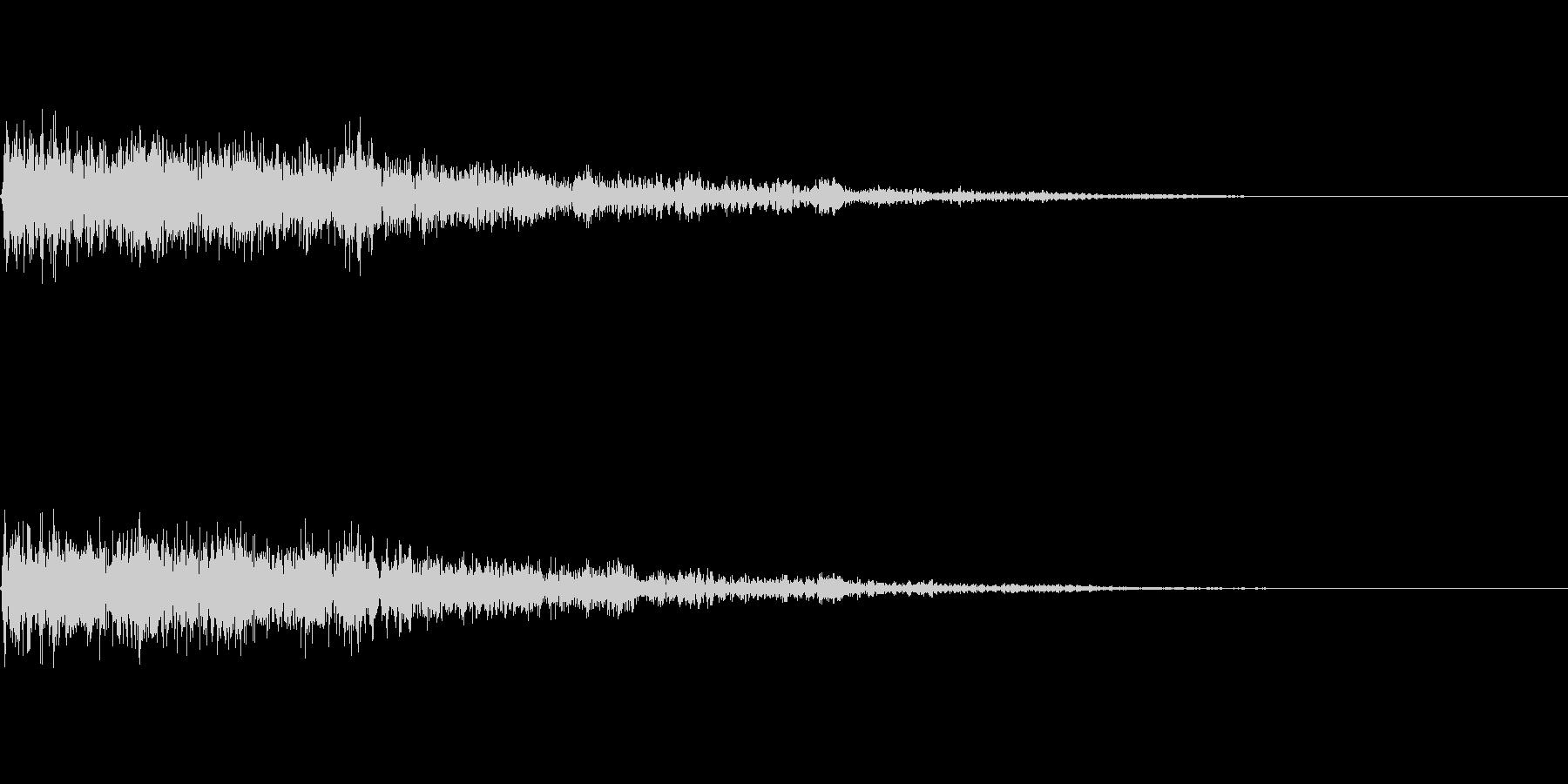 バコーン(決定_01)の未再生の波形