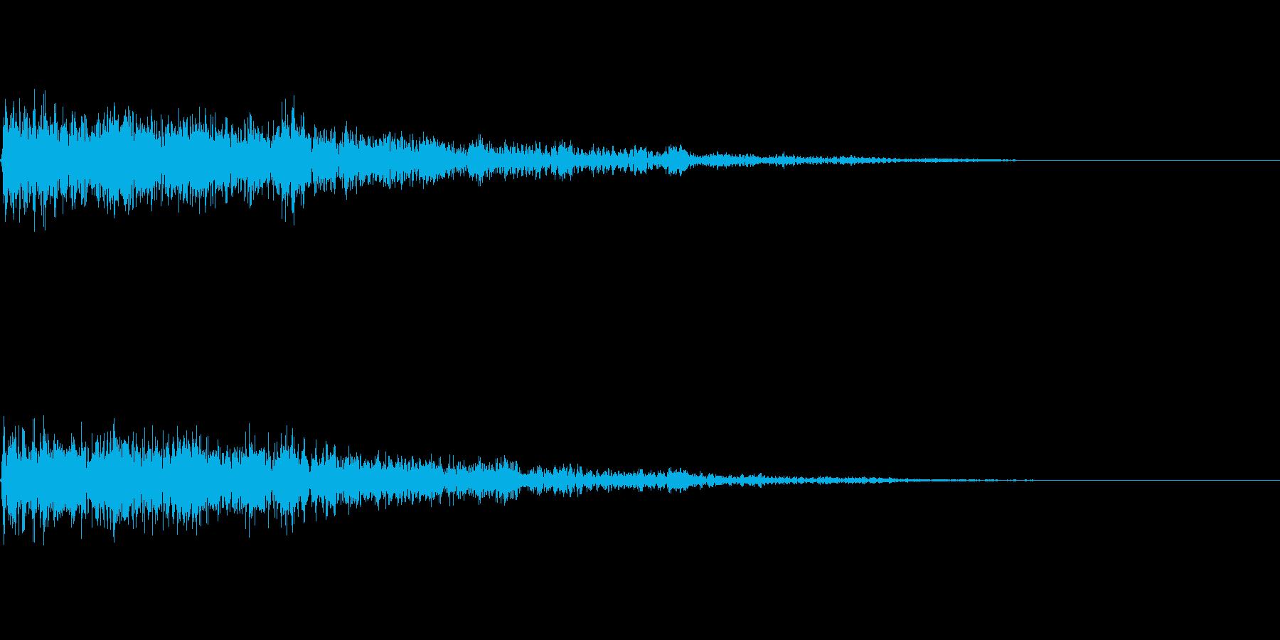 バコーン(決定_01)の再生済みの波形