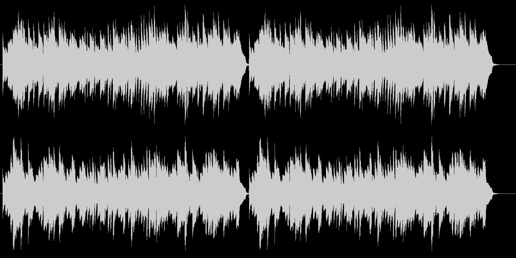 童謡「お正月」シンプルなピアノソロの未再生の波形