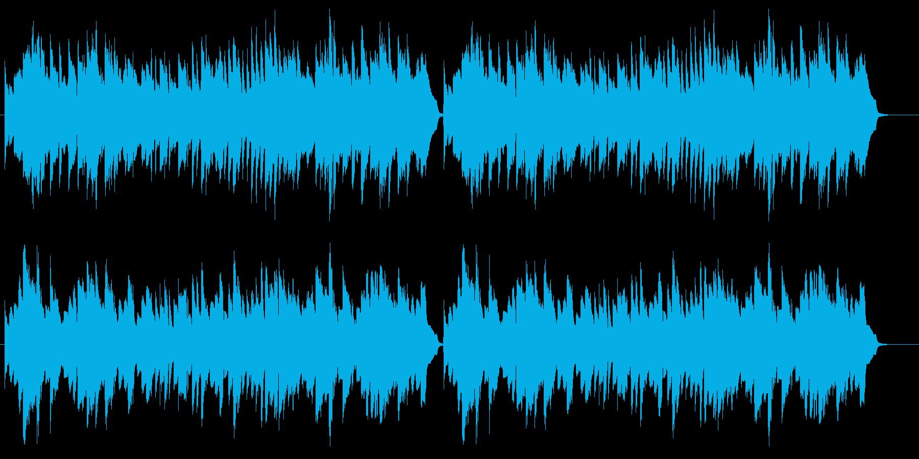 童謡「お正月」シンプルなピアノソロの再生済みの波形