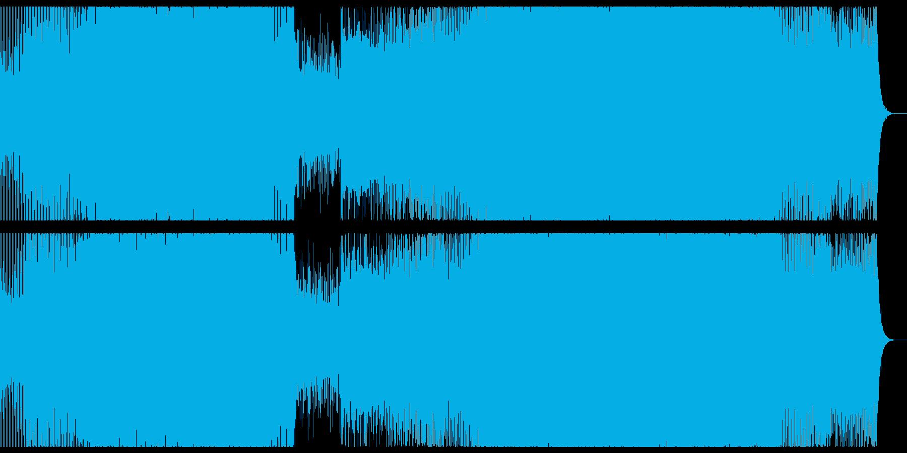 爽やかなで感動的なプログレッシブハウス。の再生済みの波形