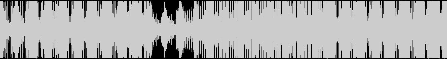 【ループ対応】アクション映画トレーラー風の未再生の波形