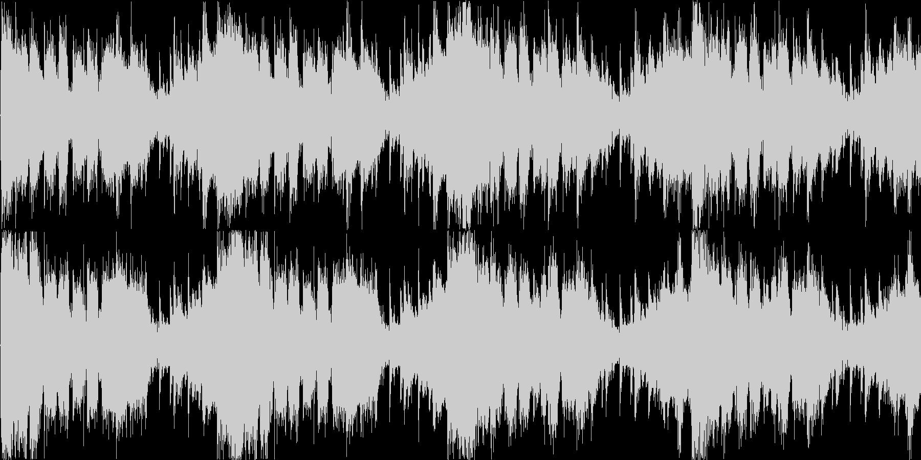 メニュー画面等のイメージ ループ曲の未再生の波形