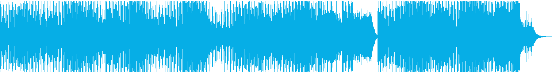 クリスマスをワクワクして待つBGMの再生済みの波形