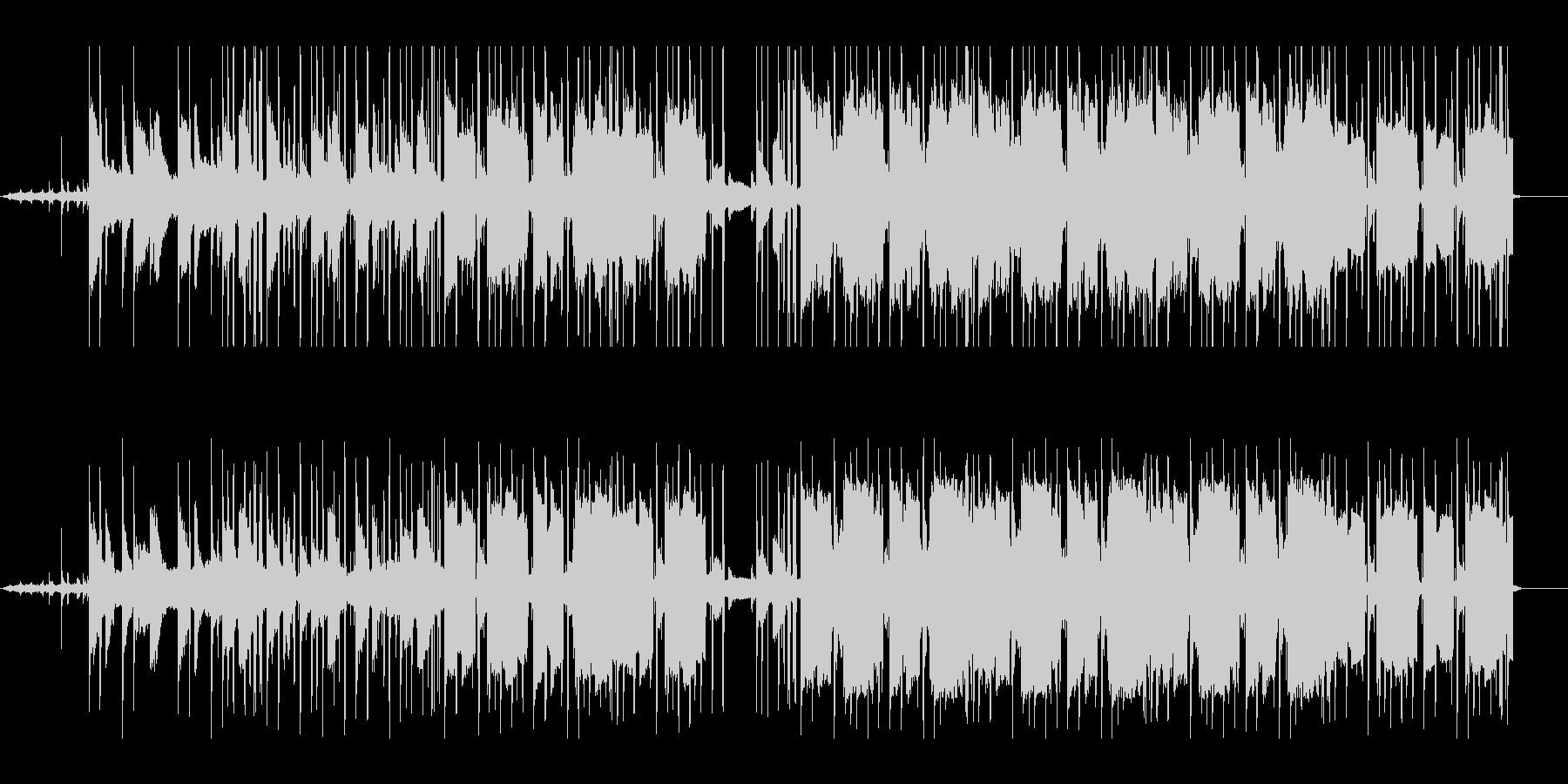 切ないピアノのlo-fi hiphopの未再生の波形
