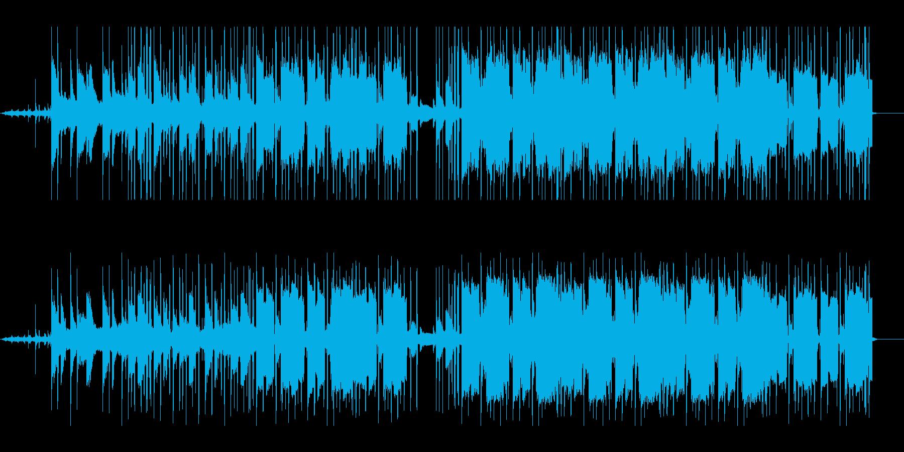 切ないピアノのlo-fi hiphopの再生済みの波形