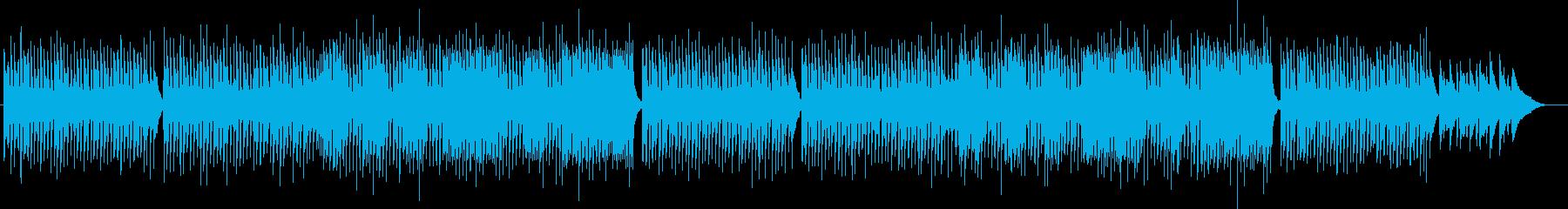 スケーターズワルツ優雅なバロックジャズの再生済みの波形