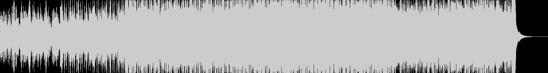 疾走感を感じるアコギが特徴的な夏曲の未再生の波形