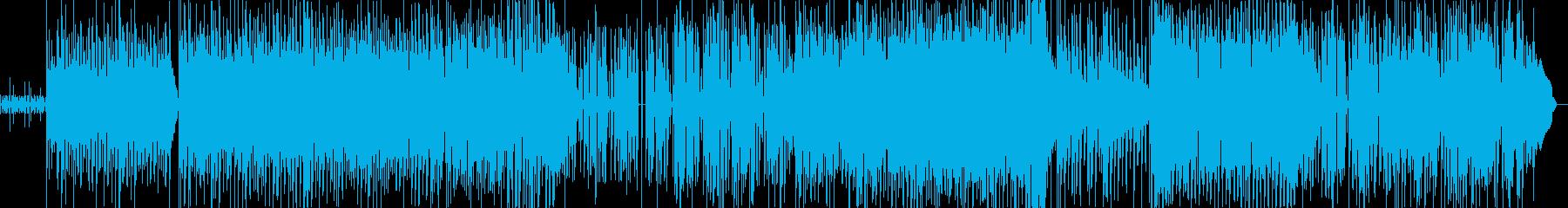 ファンキーでポップなダンスナンバーの再生済みの波形