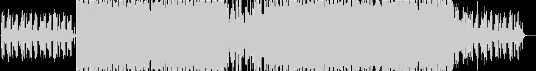 琴と三味線による和ロックの未再生の波形