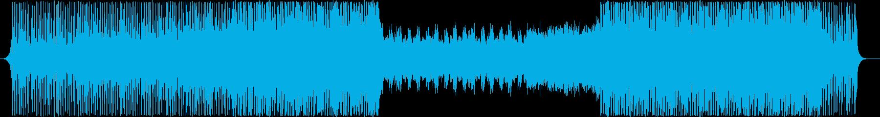 エレクトロEDM-壮大-挑戦-アクティブの再生済みの波形