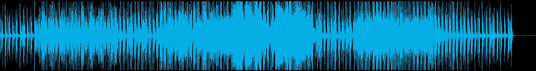 ピアノを中心としたミニマルなエレクトロの再生済みの波形
