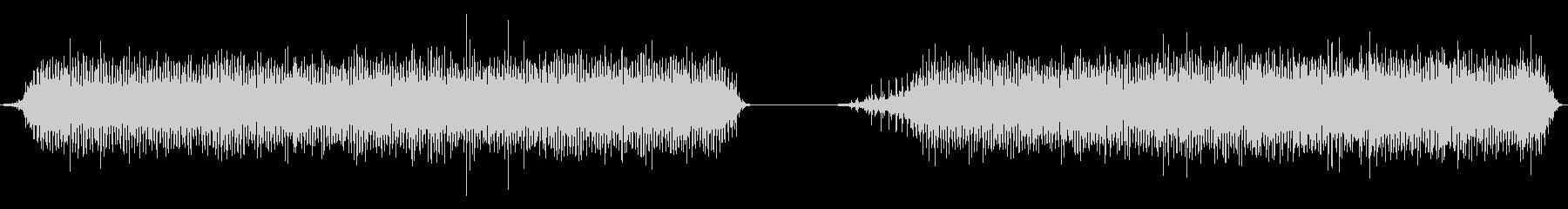 ミシン、ミシン、高速、2バージョン...の未再生の波形