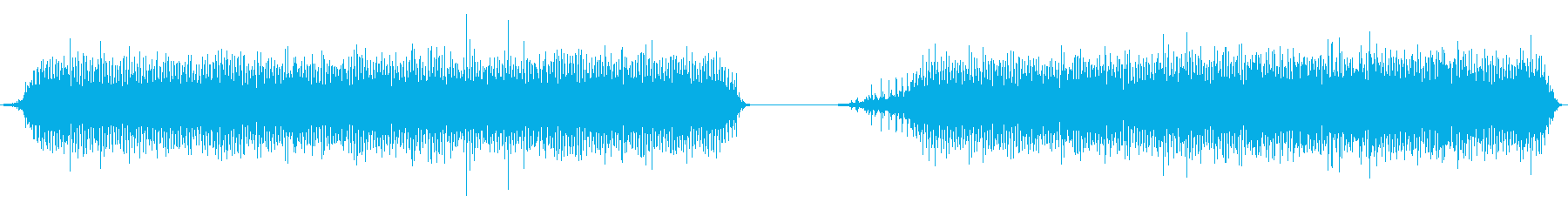 ミシン、ミシン、高速、2バージョン...の再生済みの波形