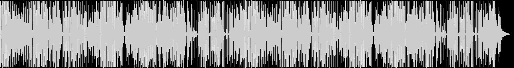 レゲエ調のヒップホップトラックの未再生の波形