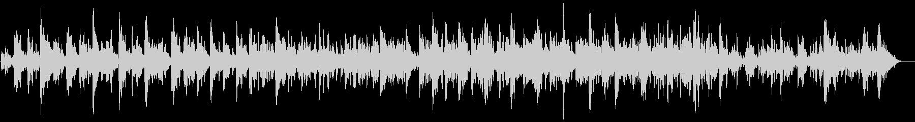 ベルのキラキラな曲の未再生の波形