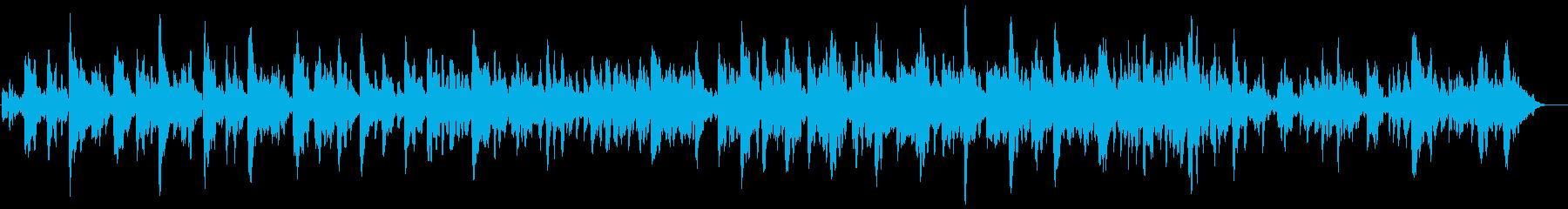 ベルのキラキラな曲の再生済みの波形