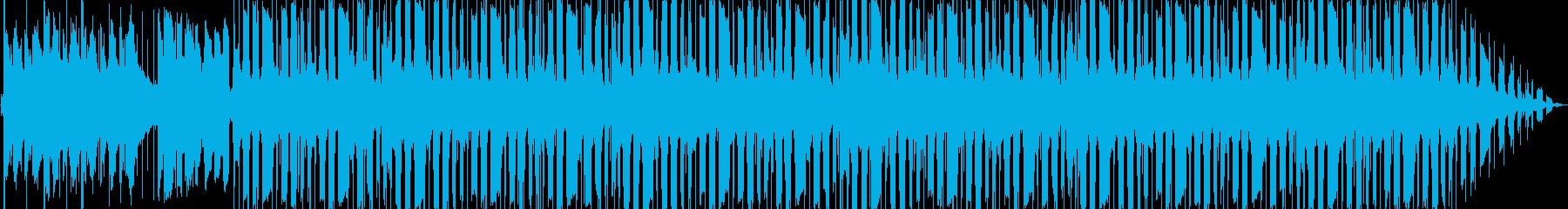 お風呂のLo-Fi Hiphopの再生済みの波形