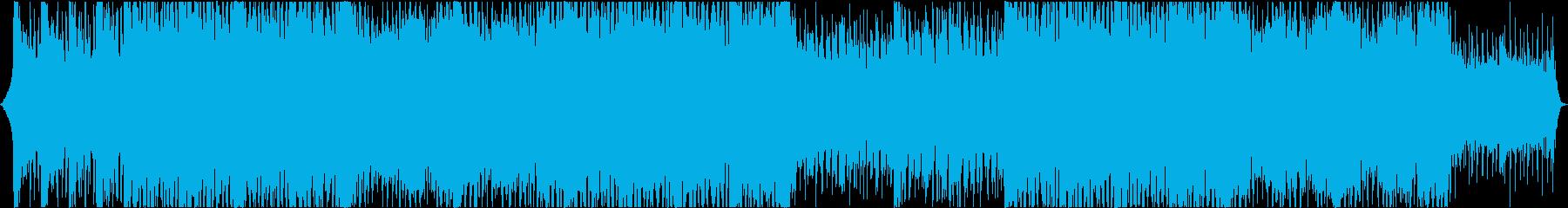 和風のシネマティックなインストの再生済みの波形