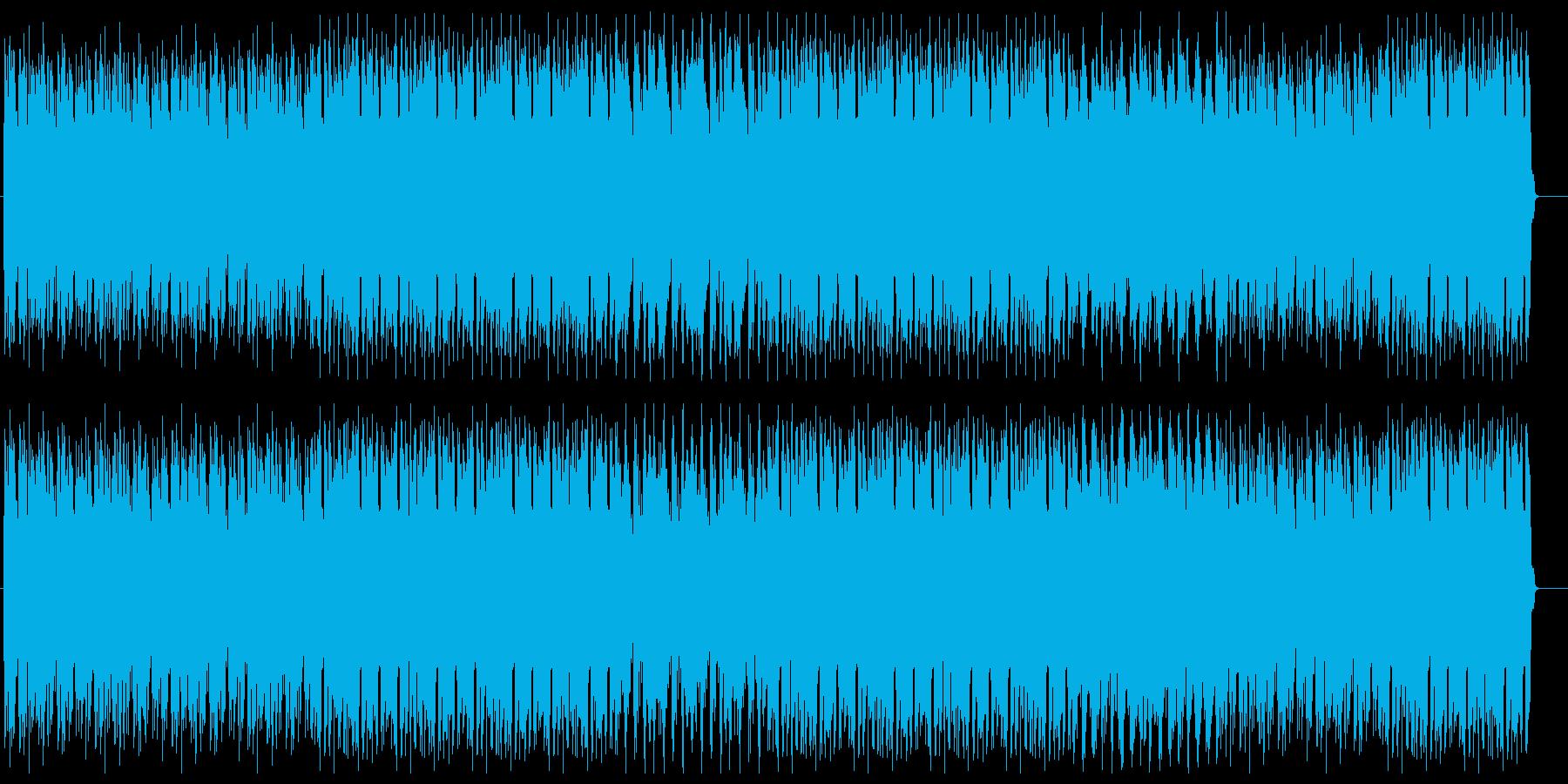 太いベース音からはじまるかっこいいEDMの再生済みの波形