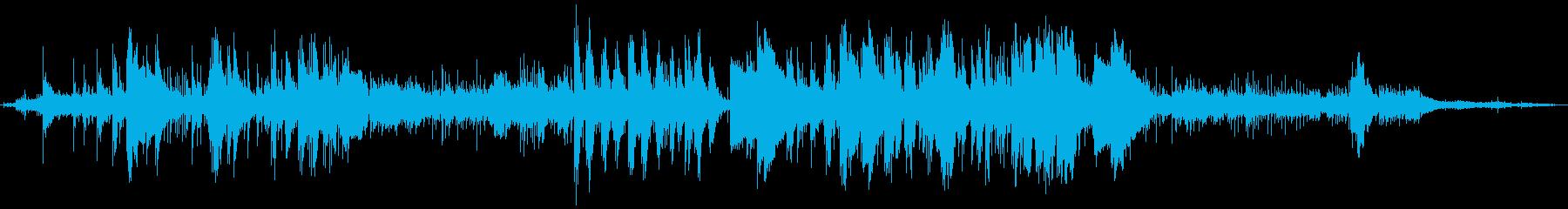 アンビエント 説明的 エスニック ...の再生済みの波形