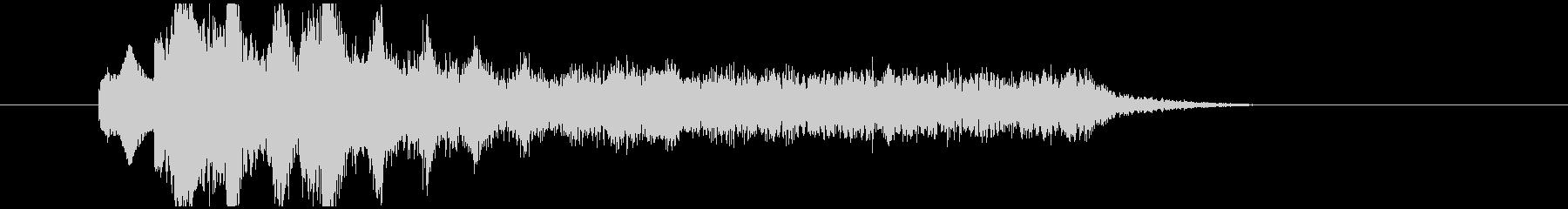 不気味なアルペジオ 1の未再生の波形