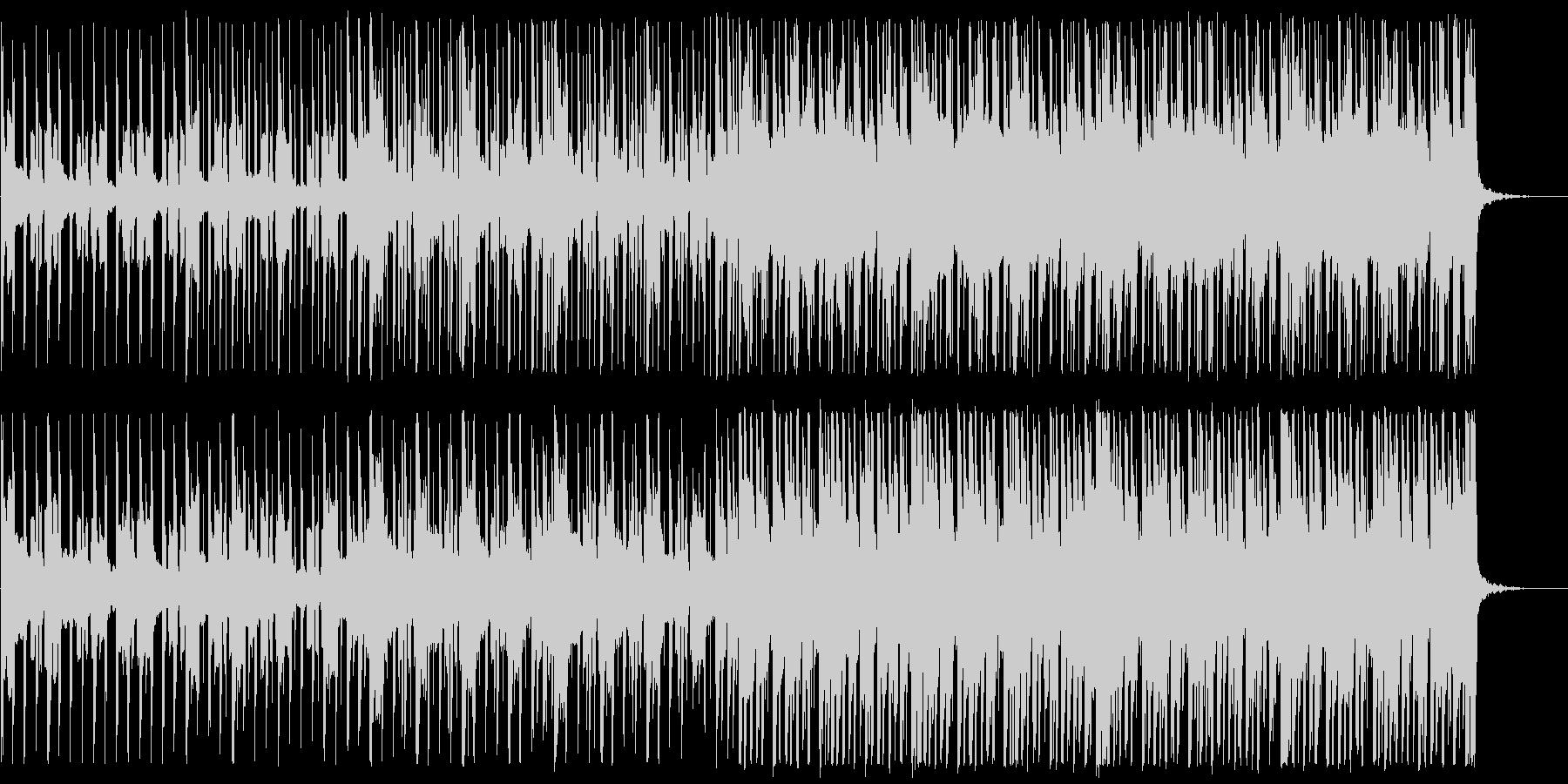 前向き/明るい/ハウス_No475_3の未再生の波形