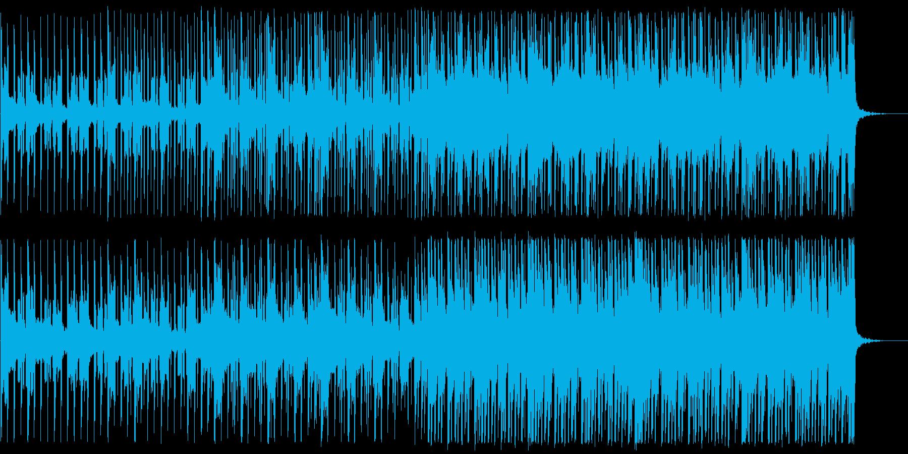 前向き/明るい/ハウス_No475_3の再生済みの波形
