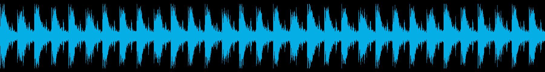 ピタゴラスイッチ風のBGM《鼓笛隊》の再生済みの波形