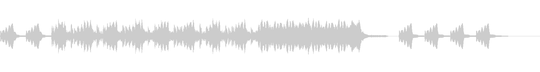 オーケストラ楽器。渦巻くドラマチッ...の未再生の波形