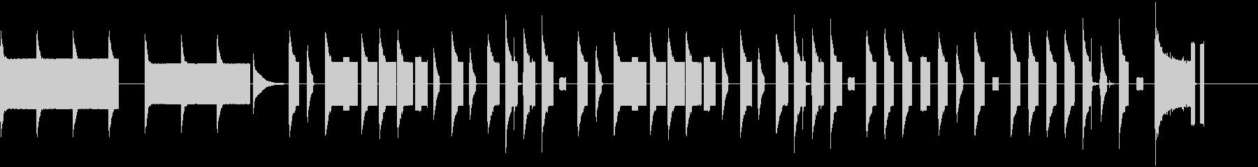 KANT8bit15秒コミカルBGMの未再生の波形
