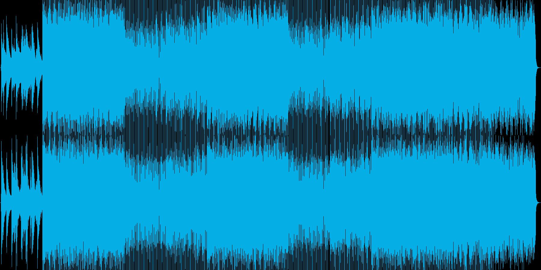 ピアノの旋律とハープのやわらかなBGMの再生済みの波形