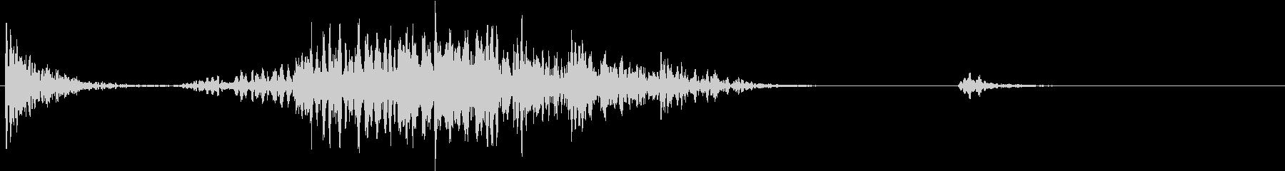 【生録音】テーブルを引っ掻く音 4の未再生の波形