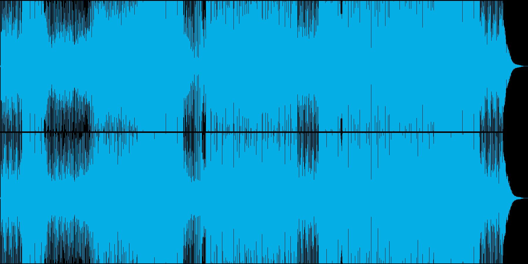 和楽器で奏でるレガトンエスニックトラックの再生済みの波形