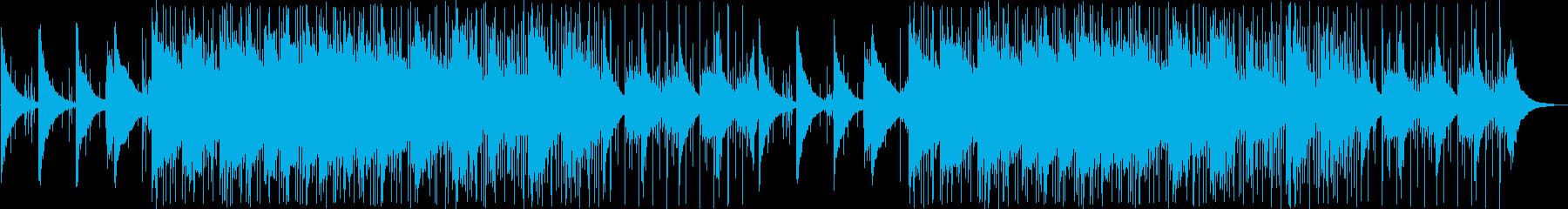 ゆったりとしたバンドアンサンブの再生済みの波形