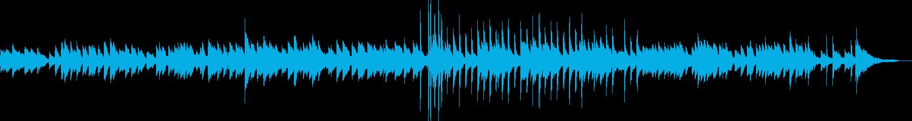 エントランスに合うBGMの再生済みの波形