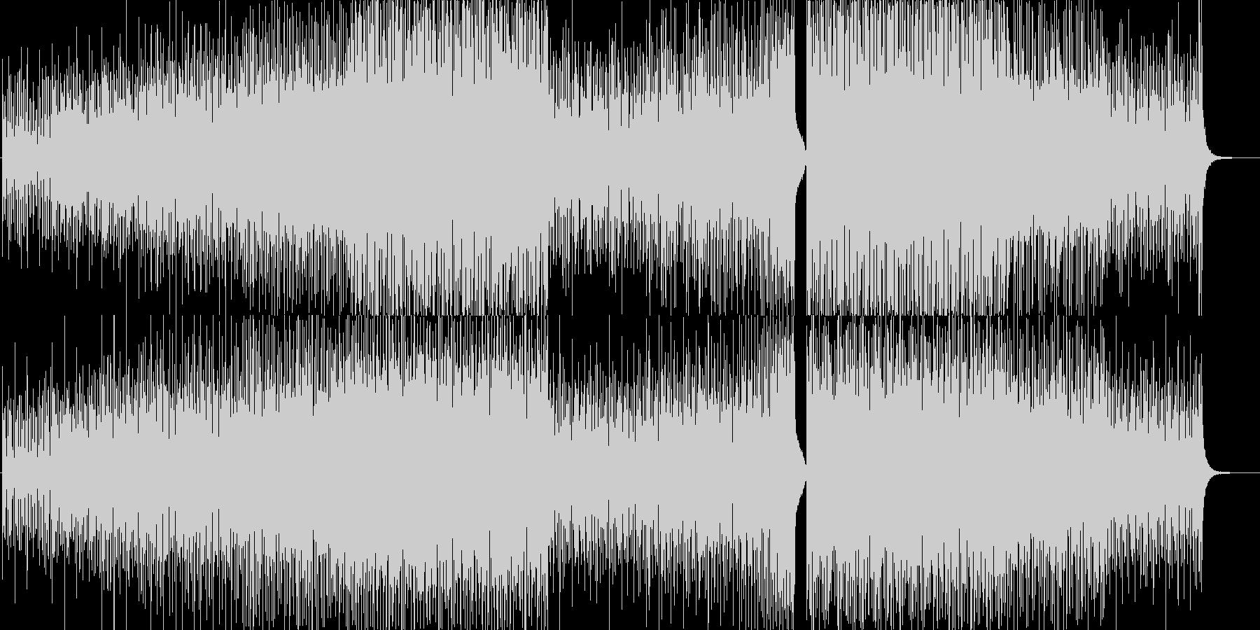 ポジティブ・ハウスポップ・爽やか・動画の未再生の波形