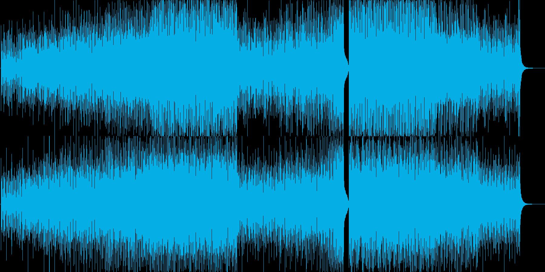 ポジティブ・ハウスポップ・爽やか・動画の再生済みの波形