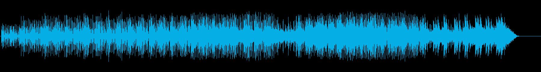 スクラッチコラージュのエレクトロポップの再生済みの波形
