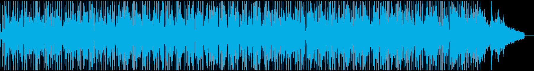 ピアニカの小気味良いイージーリスニングの再生済みの波形
