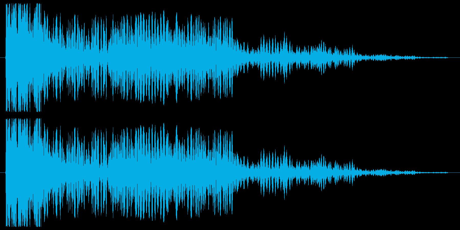 シューンシューン(発射)の再生済みの波形
