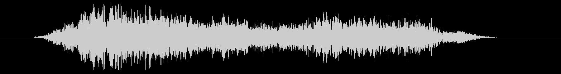 群集 応援ハッピーショート01の未再生の波形