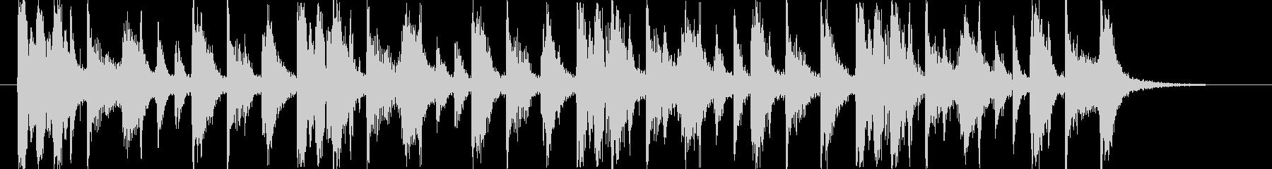 ミステリアスポップジングル/ハロウィンの未再生の波形